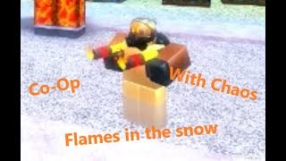 Flames In The Snow | Roblox | Tower Battles | Co-Op | Snowy Forest | With Chaos