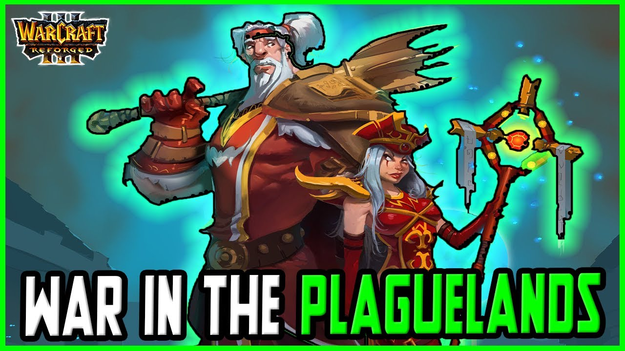 War in the Plaguelands: Reborn - Scarlet Monastery | Warcraft 3 Reforged [12P / Dark Green]