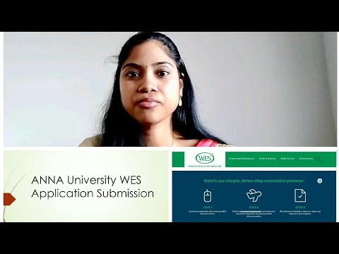 How To Apply ECA|WES| Canada PR |Express Entry|Anna University WES Procedure |Tamil