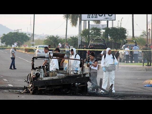 В Мексике преступники расстреляли тюремный конвой