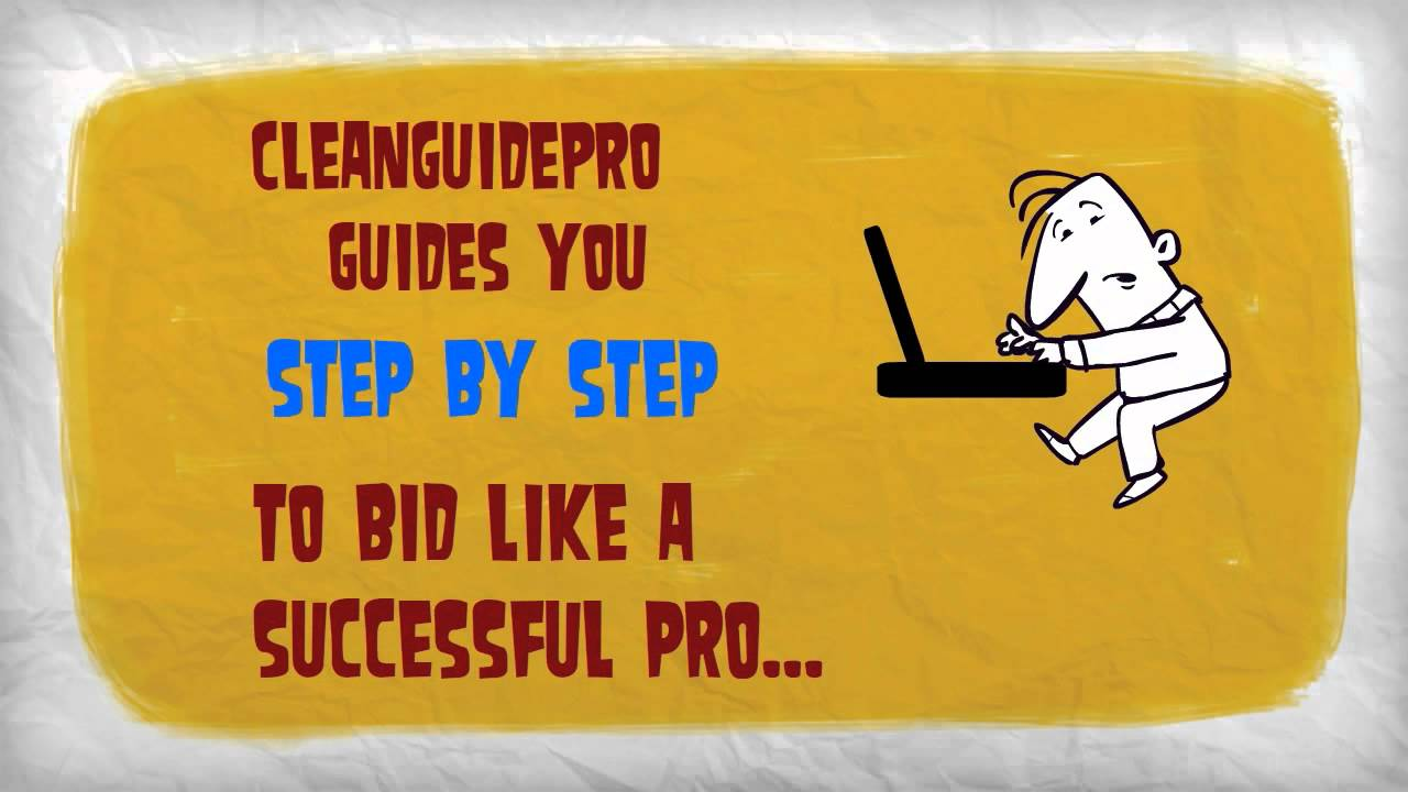 CleanGuidePro Janitorial Bidding Software - Intro to Janitorial ...