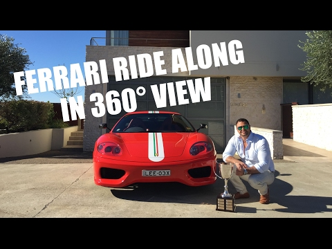 Ride Along with Lee in the Ferrari 360 Challenge Stradale