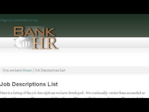 Bank Underwriter Job Description