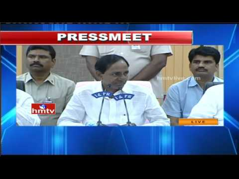 CM KCR Press Meet on Telangana Political Issues | Part 1 | HMTV LIVE