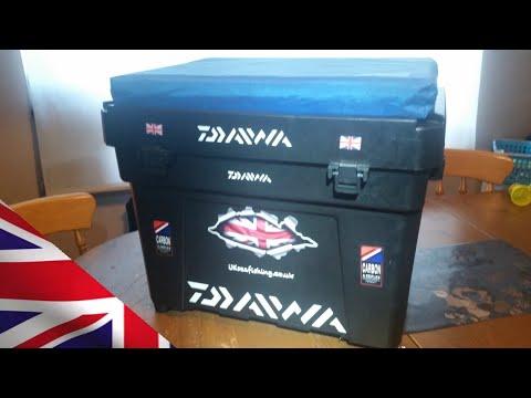 Shakespeare Seat Box Sea Fishing Tackle Box Modified