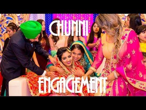Chunni Engagement + Mangna - Manreet weds Sumeet   Punjabi Sikh Wedding Calgary