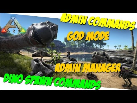 Admin Manager/God/Dino + Item Spawn Commands/Cheats PC/PS4/XBOne - ARK: Survival Evolved German