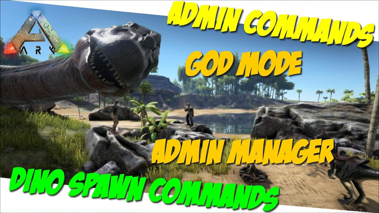 Ark Admin Commands Dino Spawn