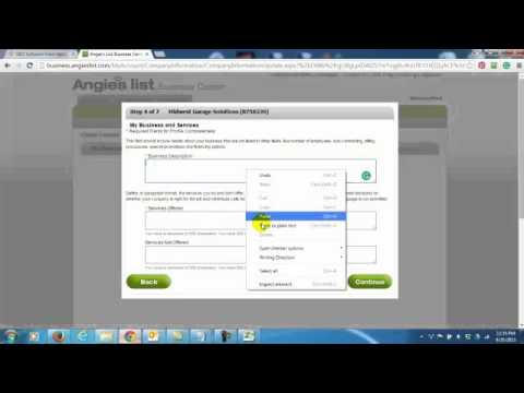 How To Add A Business Listing To Angie's List