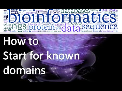 Bioinformatics practical 22 how to search for known domains in protein sequence