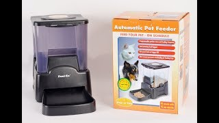 Большая автокормушка Feed-Ex PF5 Black для собак и кошек\Large Feed-Ex PF5 Black feeder