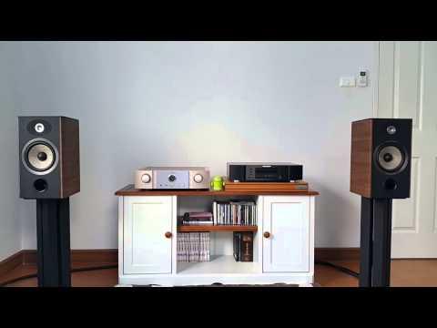 Marantz PM-7005 With Focal Aria 906 Track2   FunnyCat TV