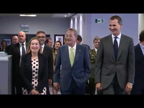 S.M. el Rey visita la redacción y la rotativa de La Voz de Galicia
