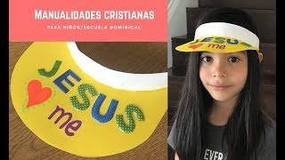 Manualidad cristiana para niños