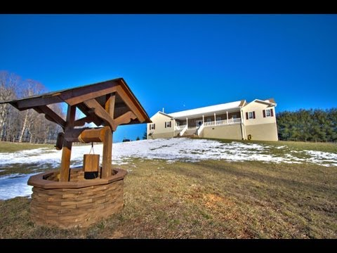 Wytheville, Va Home For Sale On Over 5 Acres 382