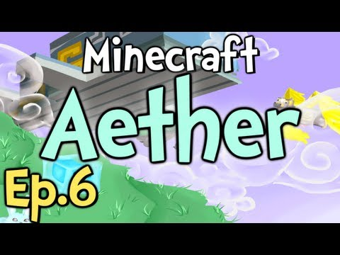 """Minecraft - Aether Ep.6 """" SPIDER BUNNY! """""""