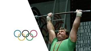 The Weightlifters Set New Records & More   Mexico 1968 Olympic Film