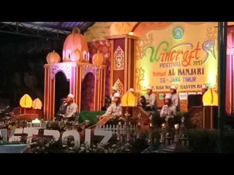 Indana Zulfa terbaik 7 festival al banjari WINCRAFT 2017, waha bangil pasuruan