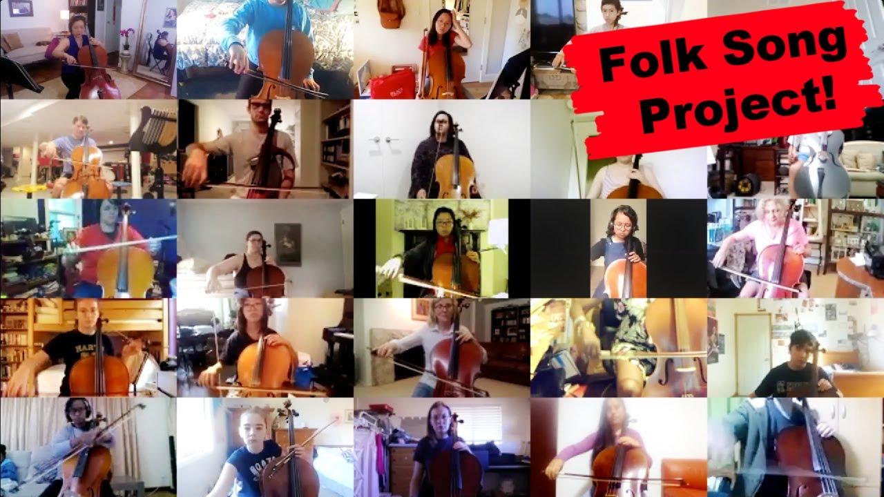 17 Cello Folk Songs Around The World