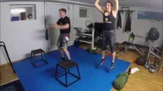 Fitness United Workout #6 - HIIT - 20 Minuten - Für Ausdauer, Beine, Po und Bauch