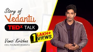 Story of Vedantu | Everyone is a teacher | CEO Vamsi Krishna at TEDx WalledCity