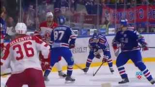 Головков удален за удар Панарина / Golovkov'd been misconducted for illegal hit on Panarin