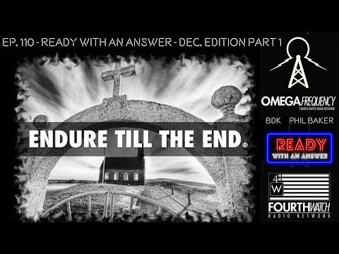 Omega Frequency: Ready With An Answer Featuring Phil Baker And BDK (December Edition Part 1)