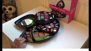 PrettyPink Heart Shaped Cosmetic Box & Make Up Set from Argos