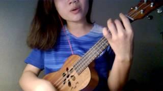 Chờ anh nhé - Hoàng Dũng - ukulele cover by Min Nguyen