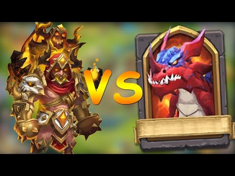 GRIMFIEND VS HBM Q!!!! - CASTLE CLASH