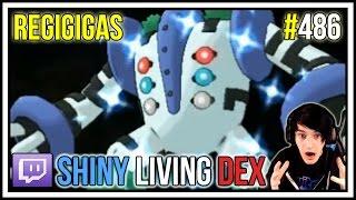 shiny regigigas in 402 soft resets   shiny living dex 486   pokemon omega ruby and alpha sapphire