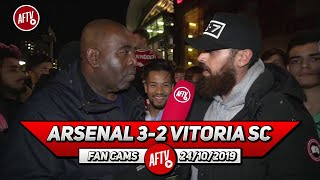 Arsenal 3-2 Vitoria SC | Guendouzi Is A Quality Player In The Making! (Turkish)