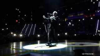 U2 With Or Without You /Shine Like Stars (snippet) i + e Tour 2015 Torino Full HD 1080p