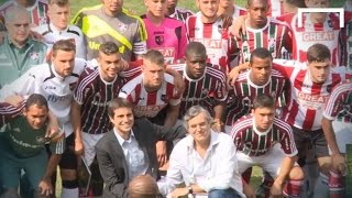 Brazil & Exeter City celebrate Selecao centenary