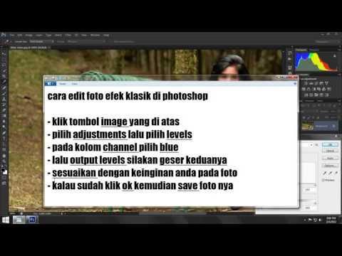 Cara Edit Foto Efek Klasik di Photoshop - YouTube