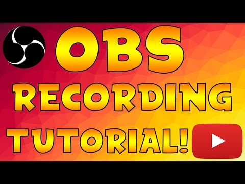 Tutorial: How To Record Gameplay & Videos With OBS Studio! (Best Recording Settings For OBS Studio)