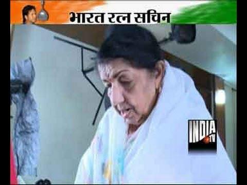Lata Mangeshkar hails Sachin Tendulkar on getting Bharat Ratna