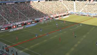 Pro Evolution Soccer 14 demo Italy vs Bayern Munchen