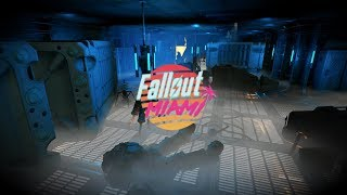 (New) Fallout Miami - Sneak Peak In To An Enclave Bunker