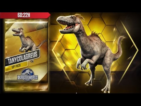 Jurassic World: The Game - SPECIAL - My 2nd VIP Dinosaur: TANYCOLAGREUS!