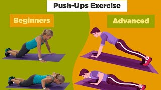The Perfect Push Up For Beginner & Advanced