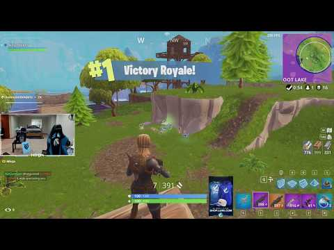 Could It Be A BUSH!? Ninja Fortnite Clip