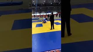 Кравченко Вероника на турнире по дзюдо в Таллине 30.11.19.
