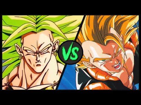 Broly VS Super Gogeta | Dragon Ball Z