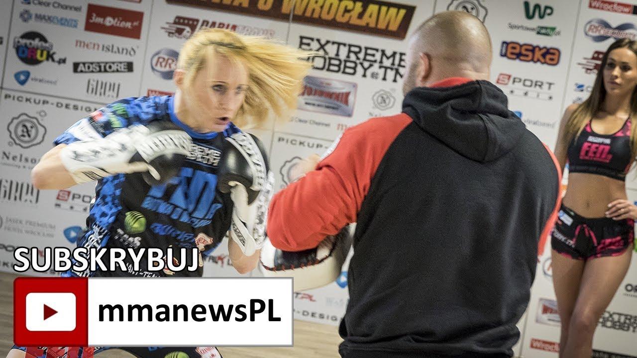 Marta Waliczek na media treningu FEN 19