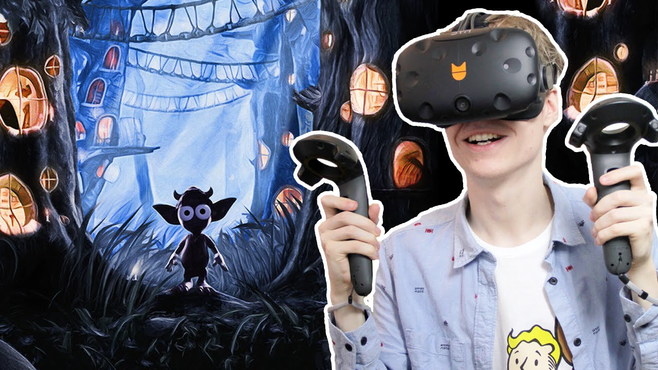 MAGICAL INTERACTIVE VR EXPERIENCE!   Gnomes and Goblins (HTC Vive Gameplay)