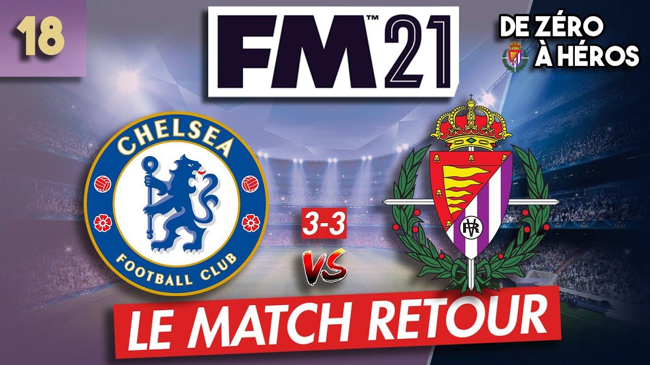 [FM21] EP18 – (3-3) LE MATCH RETOUR DE LA DERNIÈRE CHANCE   / Football Manager2021 / Carrière FM2021