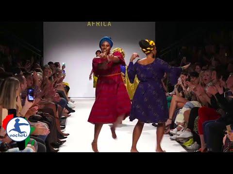 African Models Crush Boring European Fashion Show with Extraordinary Dancing