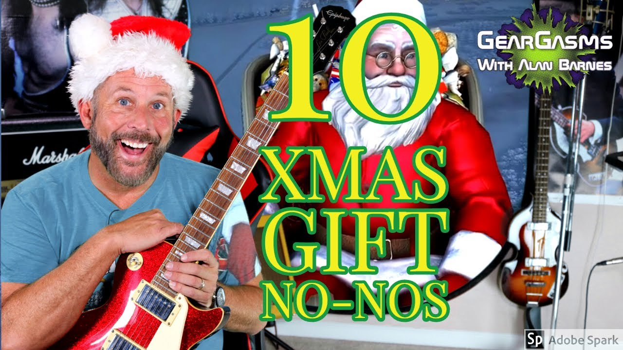 10 Worst Guitar Christmas Gifts!!! You DON'T Want to Give ...
