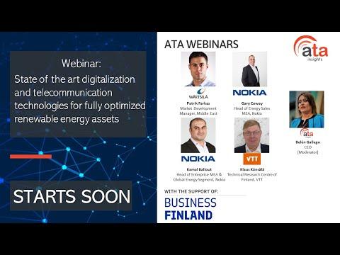 Webinar: State of the art digitalization-telecommunication technology for optimized renewable assets